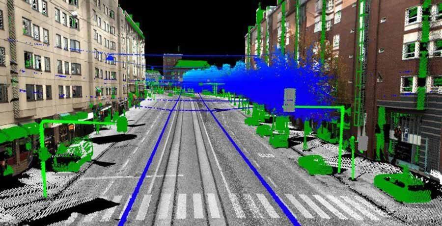 自动驾驶汽车的激光雷达
