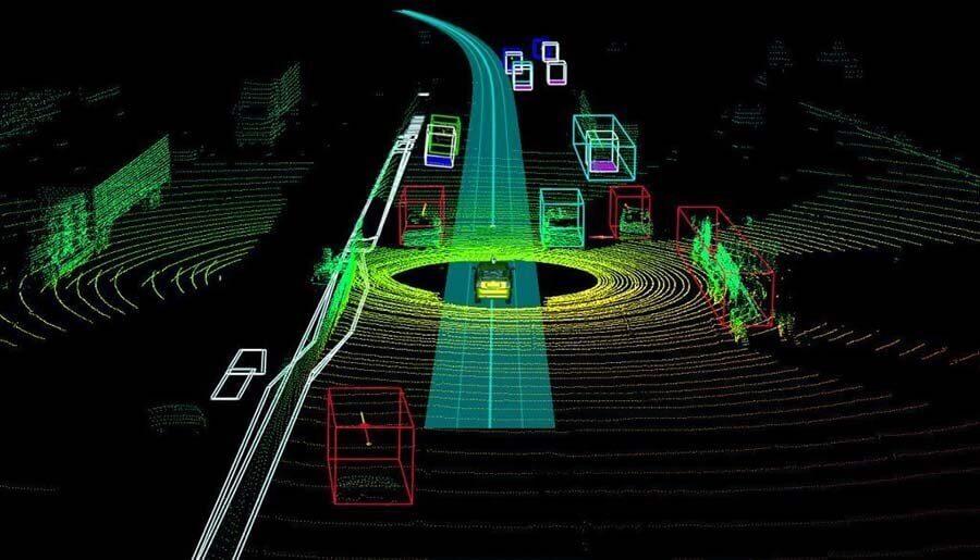 LIDAR传感器的3D点云注释